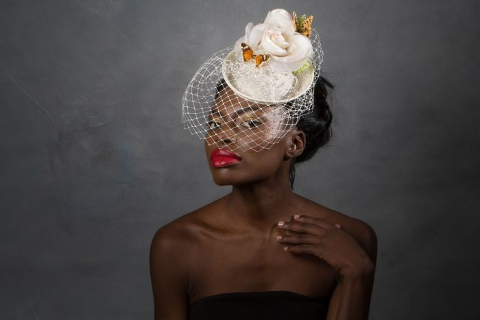 butterfly_hat_birdcage_veil_bridal_wedding_hat